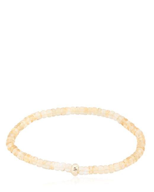 Luis Morais | Metallic Lucky Roundel Charms Bracelet | Lyst