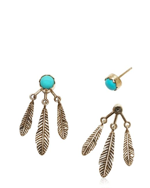 Pamela Love | Metallic Frida Ear Jacket Earrings | Lyst
