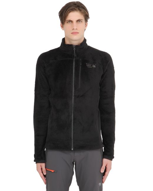 Mountain Hardwear | Black Monkey Man Grid Ii Fleece Jacket for Men | Lyst