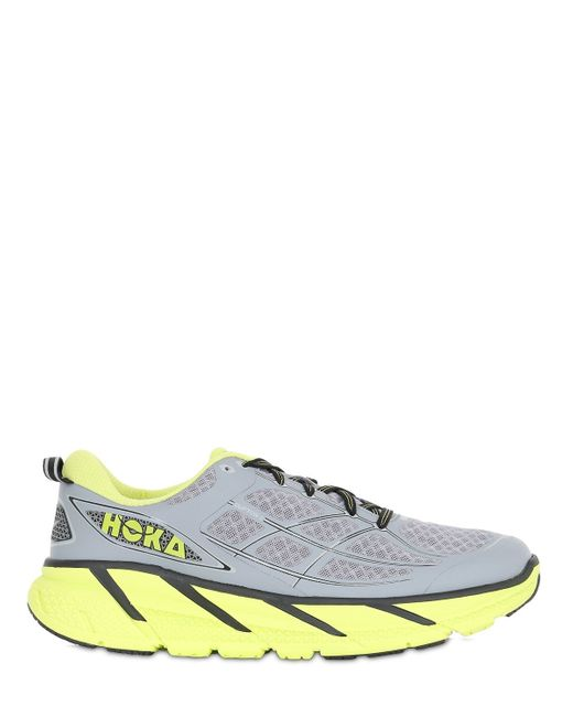 Hoka One One | Yellow Clifton 2 Lightweight Running Sneakers | Lyst