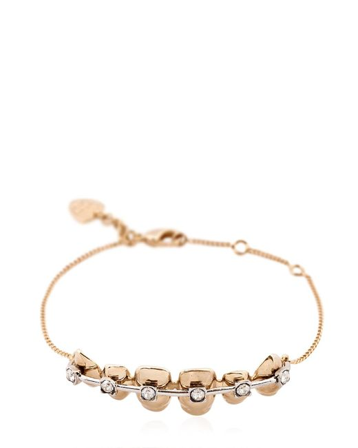 Schield | Metallic Teeth Braces Bracelet | Lyst