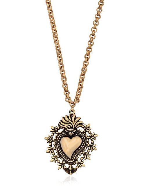 Mercantia | Metallic Tindari Pendent Necklace | Lyst