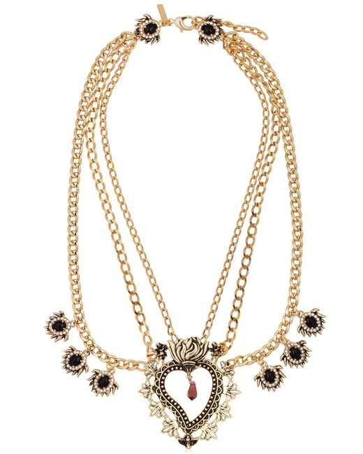 Mercantia | Metallic Tindari Necklace | Lyst