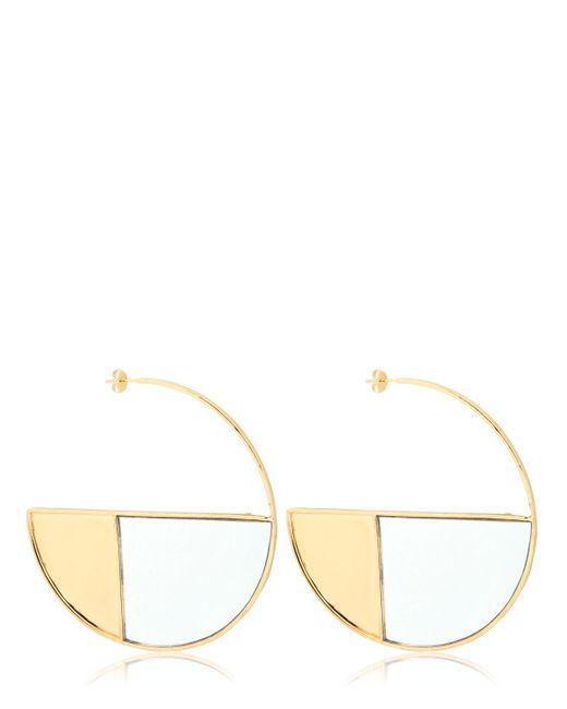 Aurelie Bidermann | Metallic Xl Bianca Hoop Earrings | Lyst