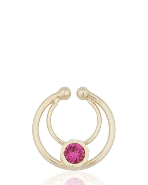 Maria Francesca Pepe | Purple Orbital Nose Ring for Men | Lyst