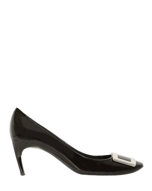 Roger Vivier | Black 65mm Belle De Nuit Patent Leather Pumps | Lyst