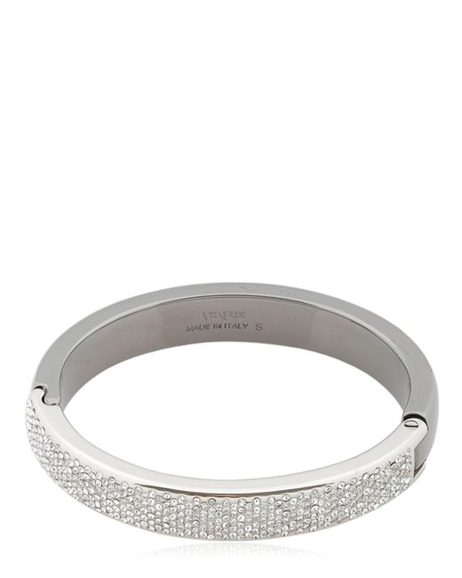 Vita Fede | Metallic Nona Two Tone Crystal Bracelet | Lyst