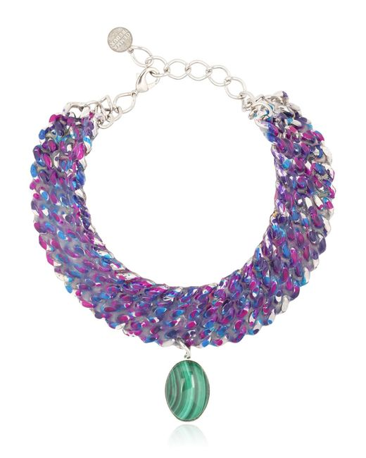 Gemma Redux | Metallic Color Bleed Necklace | Lyst