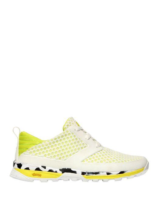 Volta Footwear | White Ct-i Strada Mesh & Nylon Sneakers | Lyst
