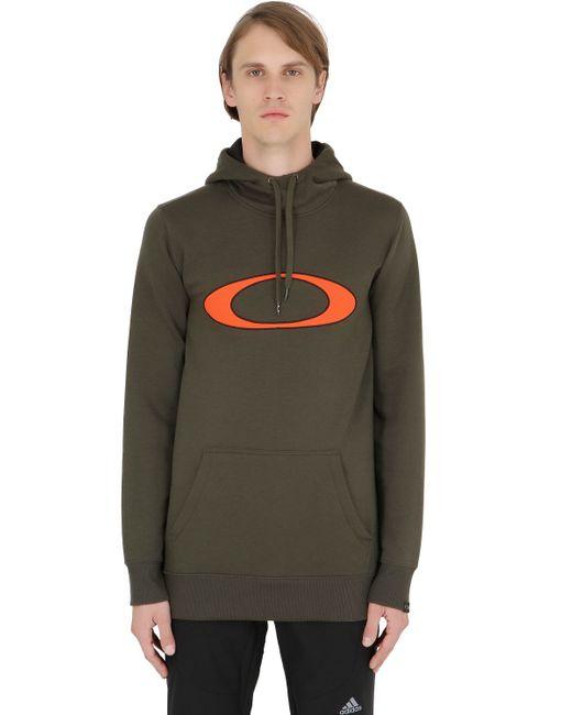 Oakley | Green Dwr Cotton Blend Sweatshirt for Men | Lyst