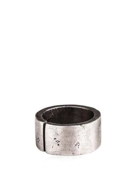 Henson | Metallic Decayed Split Ring for Men | Lyst