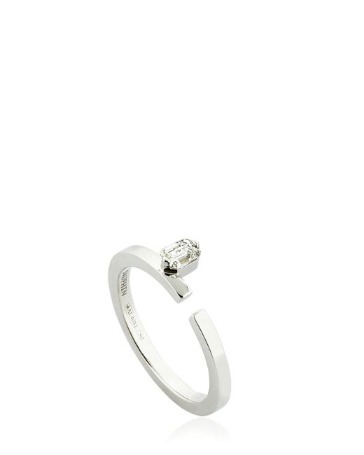 Dauphin | Metallic Disruptive Diamond Ring | Lyst