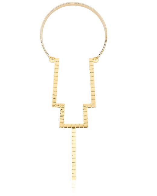 Monica Sordo | Metallic Croisette Necklace | Lyst