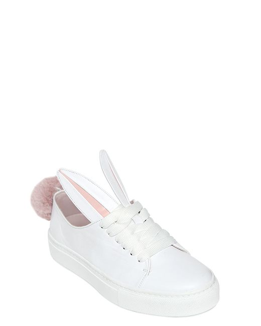 Minna Parikka   White 'tail' Sneakers   Lyst