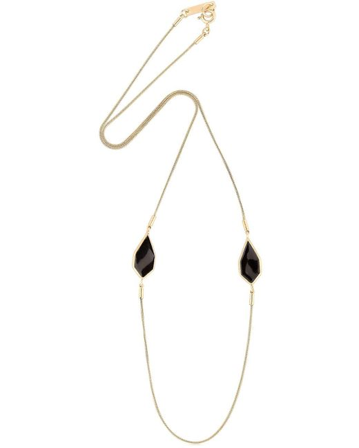 Isabel Marant | Black Arrow Necklace | Lyst