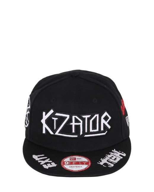KTZ | White Logo Embroidered Baseball Hat for Men | Lyst