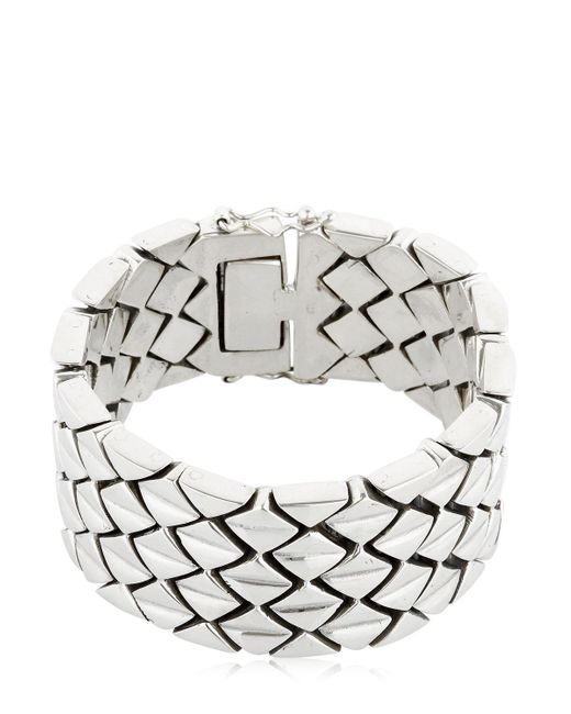 KD2024 | Metallic M3n Sterling Silver Bracelet for Men | Lyst