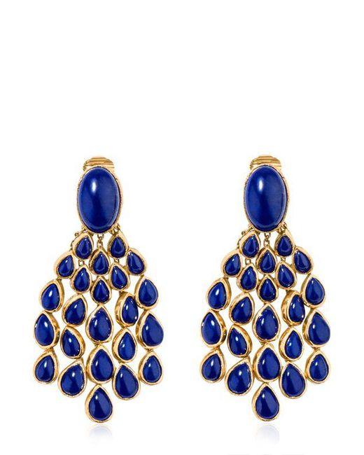 Aurelie Bidermann   Blue Cherokee Lapis Earrings   Lyst