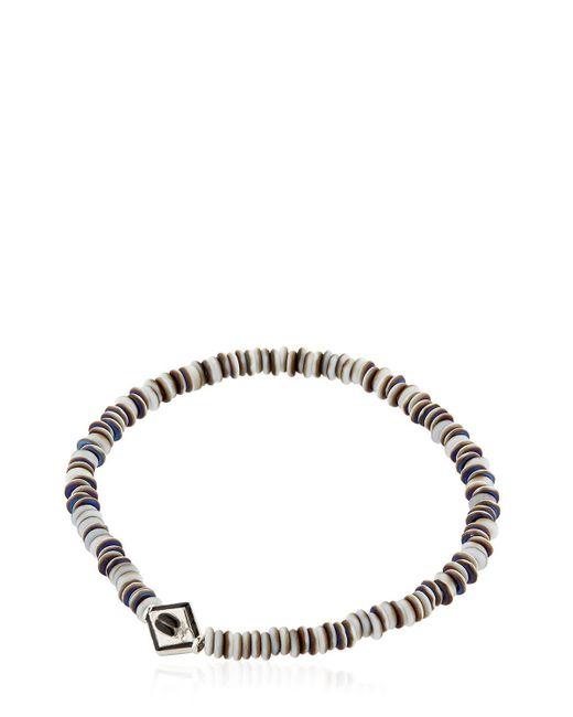 Luis Morais | Gray Gold Scarab Bracelet | Lyst