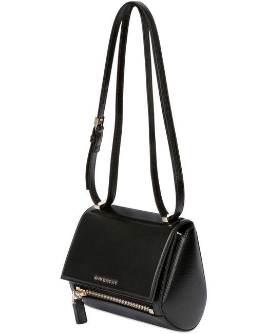 Givenchy | Black Mini Pandora Box Smooth Leather Bag | Lyst