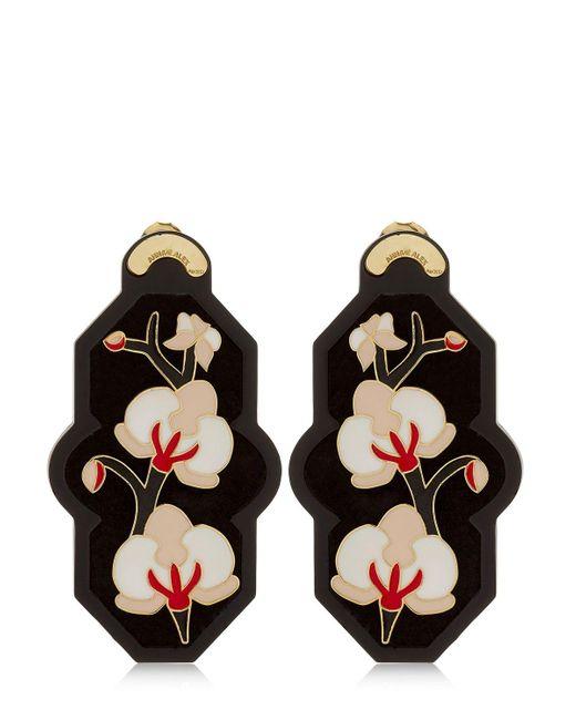 Anna E Alex   Black Brasile Earrings   Lyst
