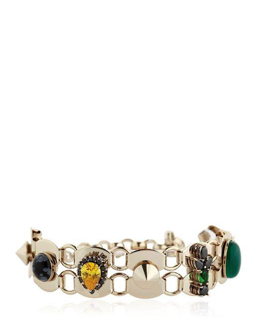 Iosselliani | Metallic Anubian Crystal Bracelet | Lyst