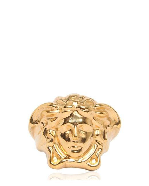 Versace Medusa Ring Ssense
