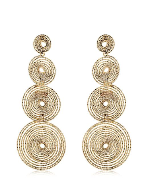 Rosantica | Metallic Soffio Spiral Earrings | Lyst