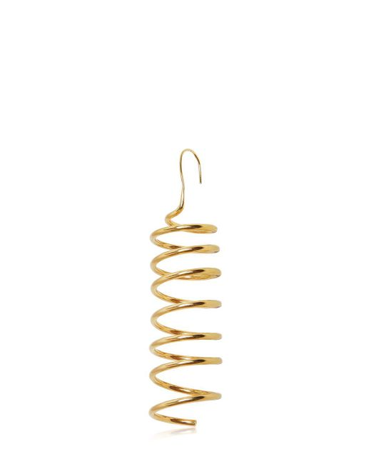 Maison Margiela | Metallic Spring Mono Earring | Lyst