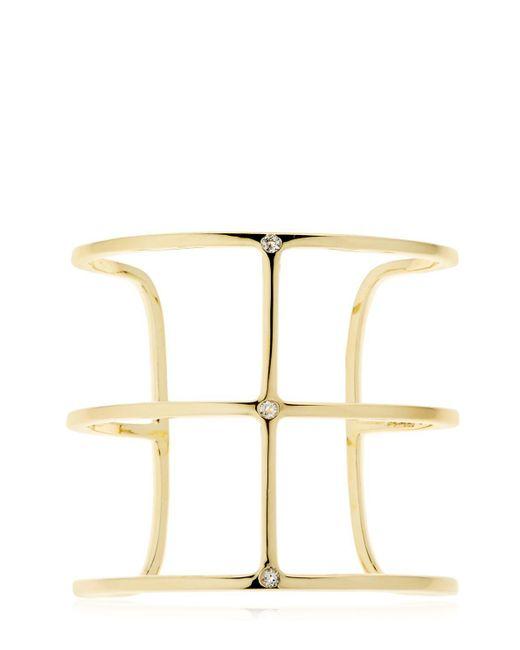 Elizabeth and James | Metallic Mondrian Cuff | Lyst
