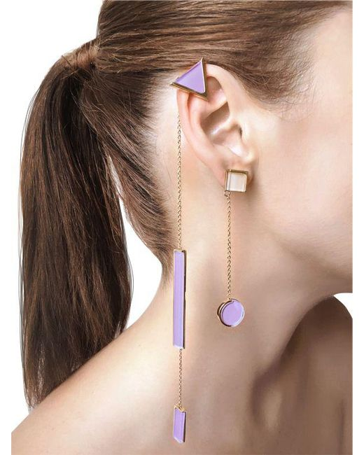 Sylvio Giardina | Natural Collezione Three (3) Shape Earrings | Lyst
