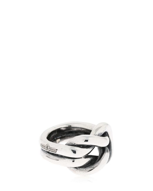 "Cantini Mc Firenze - Metallic Anillo ""nodo De Medici"" De Plata Esterlina for Men - Lyst"