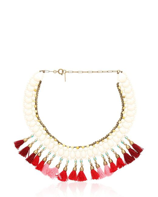 Isabel Marant - Red Mild Necklace - Lyst