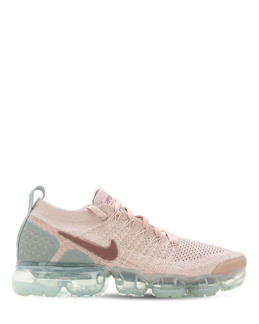 "Nike - Pink Sneakers ""air Vapormax Flyknit 2"" - Lyst"