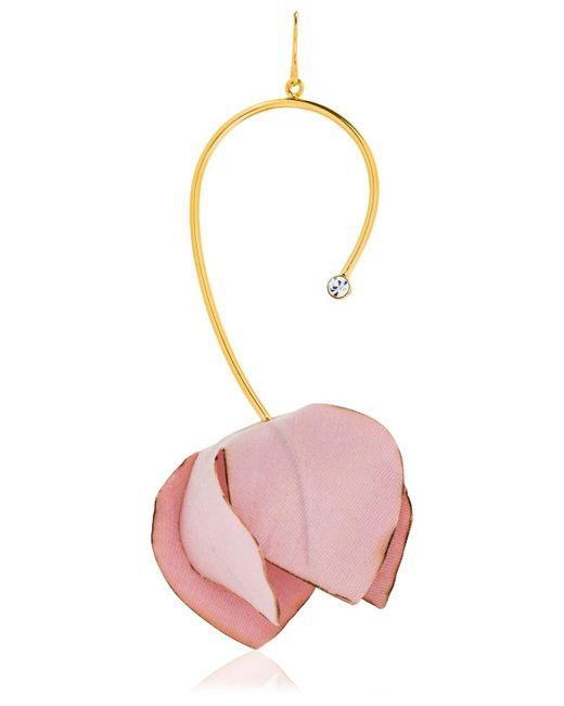 Marni   Pink Flower Drop Earrings   Lyst