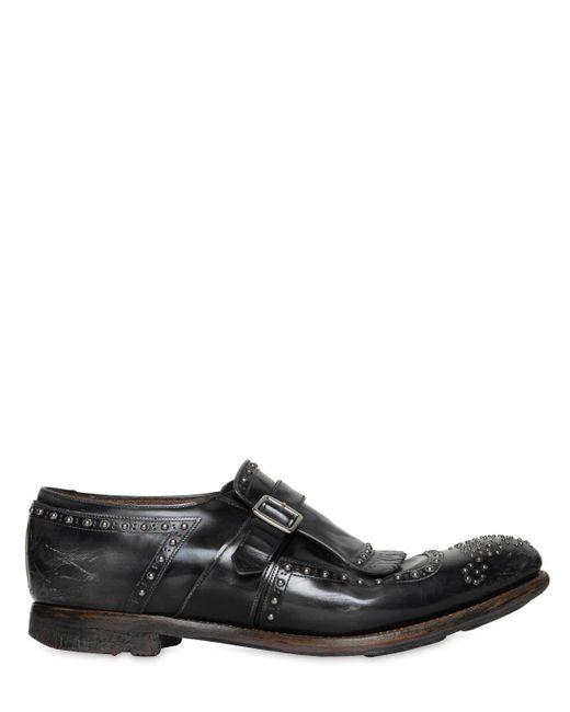 "Church's - Gray Zapatos ""shanghai"" De Piel Pulida for Men - Lyst"