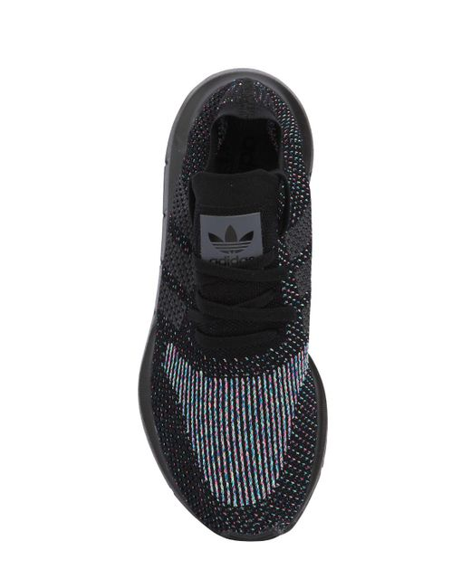 finest selection d164d dc144 ... Adidas Originals - Black Swift Run Primeknit Sneakers for Men - Lyst ...