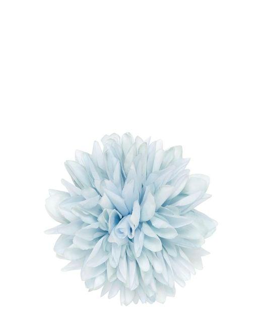 Gucci - Blue Silk & Cotton Flower Pin - Lyst