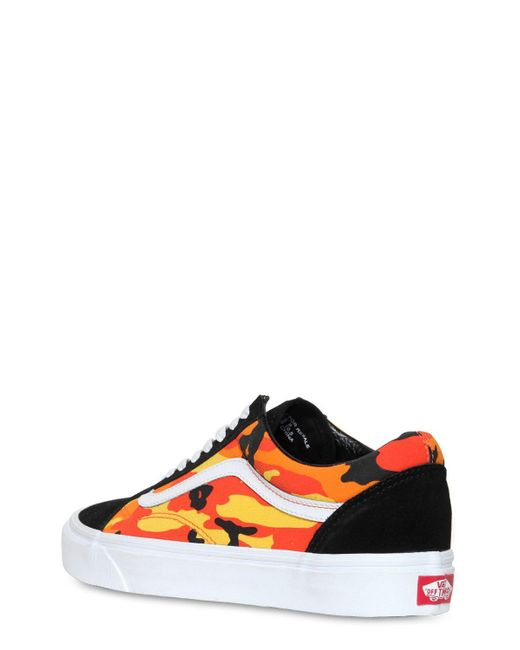 174584f3a5e899 ... Vans - Multicolor Old Skool Pop Camo Sneakers for Men - Lyst ...