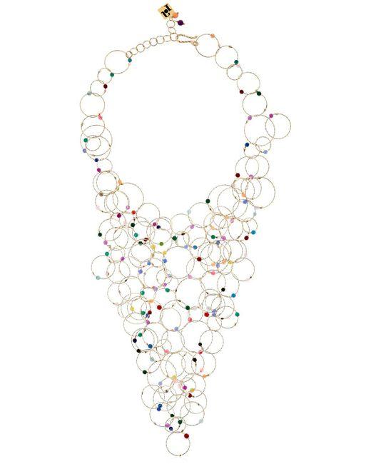 Rosantica   Metallic Luce Multicolor Quartz Necklace   Lyst