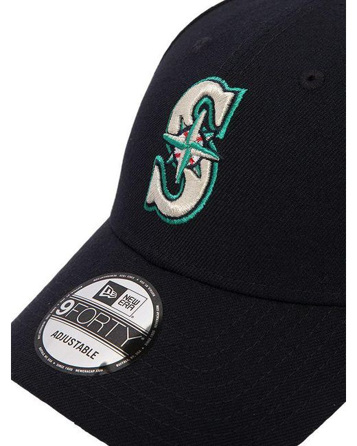 new concept 113a4 152cb ... KTZ - Black 39thirty Seattle Mariners Mlb Hat for Men - Lyst ...