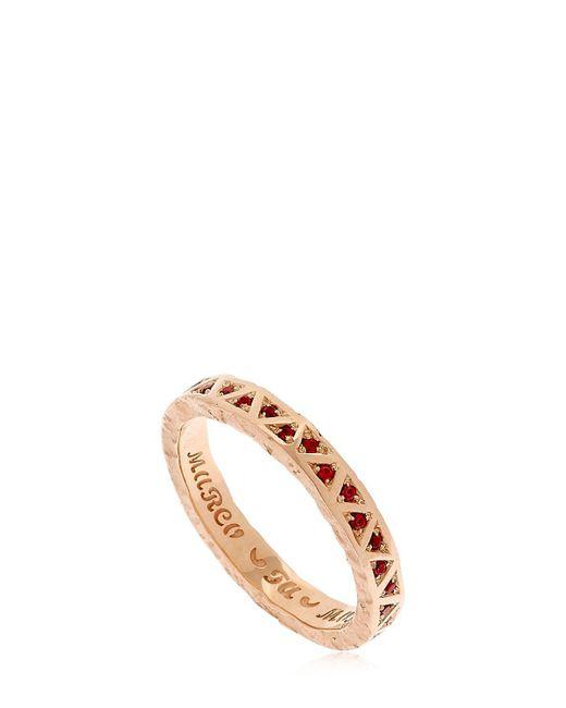 MARCO DAL MASO - Metallic Manawa Ring for Men - Lyst