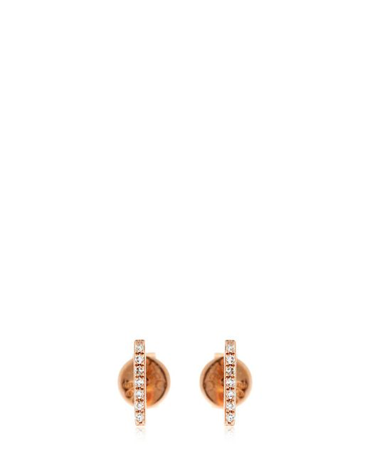EF Collection | Multicolor Bar Diamond Stud Earrings | Lyst
