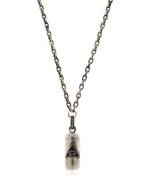 Jade Jagger   Metallic Bullet Pendant Necklace   Lyst