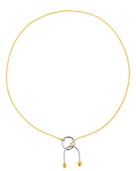 Uribe - Metallic Jane Necklace - Lyst