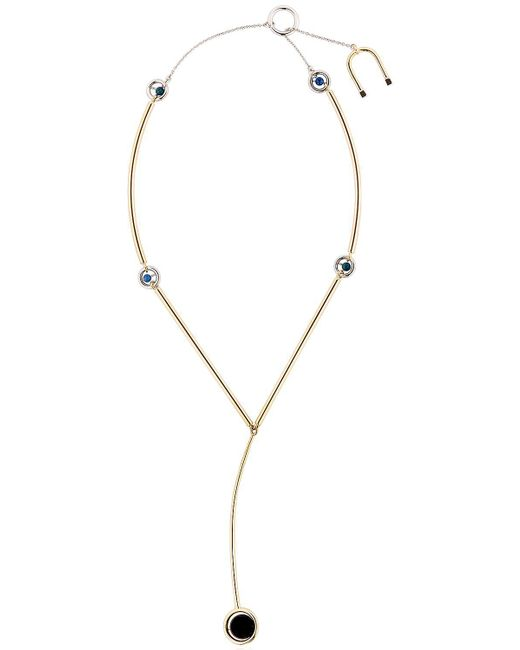 Uribe - Metallic Charles Y Necklace - Lyst