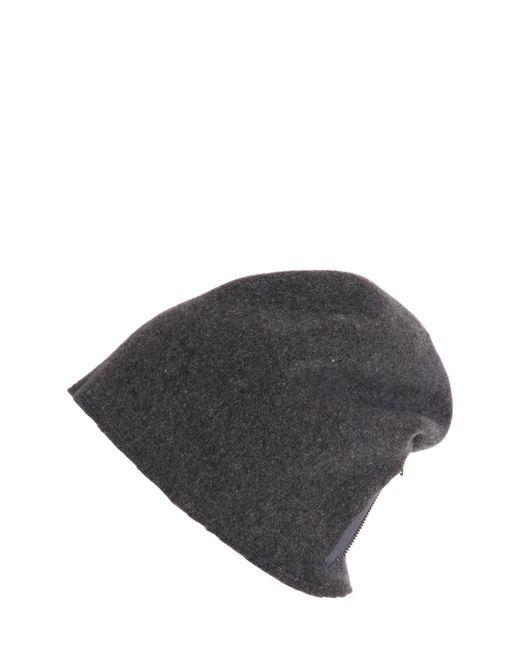 Scha | Gray Taiga Zip Long Wool Beanie Hat for Men | Lyst