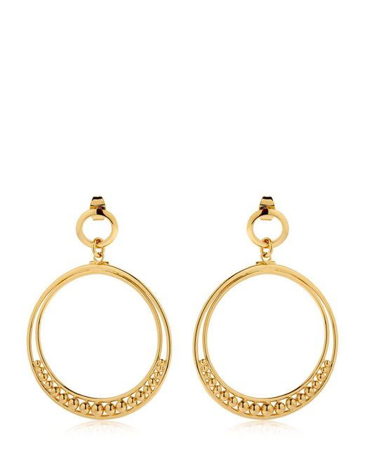 Philippe Audibert - Metallic Alana Hoop Earrings - Lyst