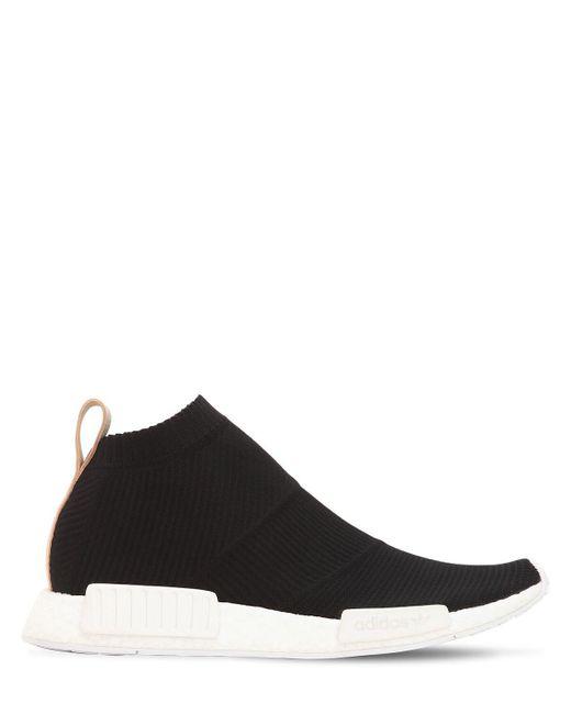 """Baskets """"Nmd Cs1"""" En Primeknit Adidas Originals pour homme en coloris Black"""