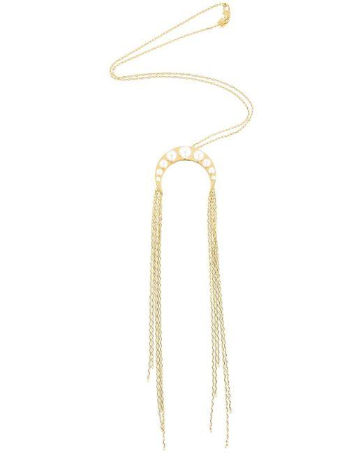 Maria Francesca Pepe   Metallic Goddess Multi Chain Necklace   Lyst
